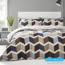 zigzag natural duvet cover set yorkshire linen warehouse mijas marbella