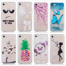 iphone 7 cases for girls. for apple iphone 7 case soft silicon flowers dancer lovely girl butterfly clear phone covers shell iphone cases girls p