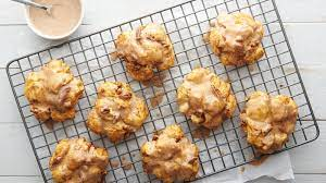 baked pumpkin fritters recipe