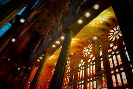 light night window chapel lighting stained glass fete