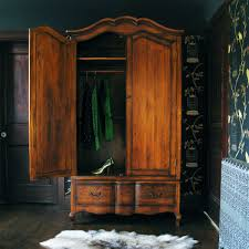 antique wood large freestanding wardrobe closet with hanger rod and drawers terrific designs of large