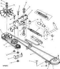 John Deere La140 Deck Belt Diagram