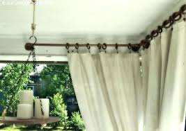 canvas outdoor curtains curtain for screen porch plastic with outstanding patio diy