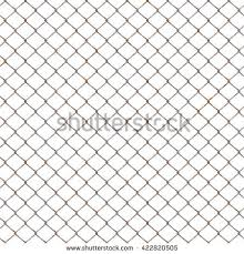 Rusty Chain Link Fences Texture Background Stock Illustration