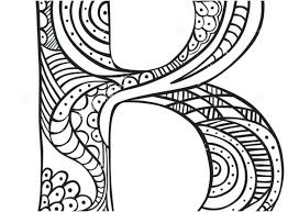 N For Nine Free Alphabet Coloring Pages Preschoolers Adults Online