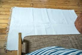 white rag rug new organic cotton old house large white rag rug