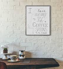 Cafe Latte Kitchen Decor Coffee Shop Decor Etsy