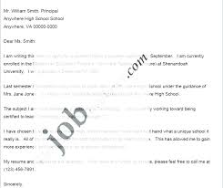 Example Of Email Cover Letter Job Application Email Cover Letter