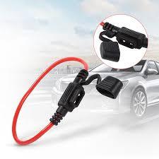 Ashata 5pcs Car Inline Blade <b>Fuse</b> Holder <b>Waterproof</b> Splash Proof ...