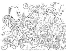 Small Picture Free printable Thanksgiving adult coloring page Download it in