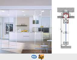 invisible telescopic sliding systems