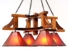 chandelier barnwood
