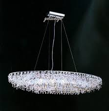 contemporary swarovski crystal pendant chandelier contemporary oval chandelier