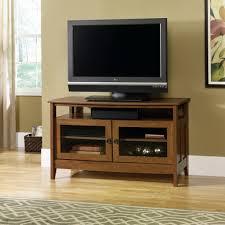 sauder august hill flat panel tv stand