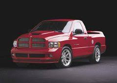 Viper-Powered Ram SRT-10 Pickup Truck
