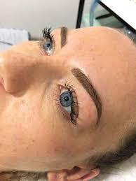 semi permanent eyebrows