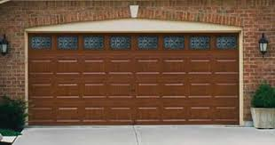 Image Ideas Model 4300 Shown In Cherry Finish Short Elegant Panel Design Worleans Wrought Iron Windows Joe Wilde Company Milwaukee Garage Doors Professional Installation Repair Service