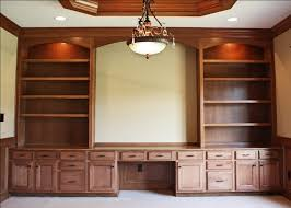 home office wall units with desk home office