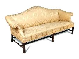 Camelback Sofas For Sale Lot An Century Style Mahogany Sofa With Camel  Back And Used85
