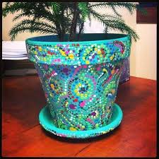 painted clay flower pots painted pots turn plain clay pots into pretty weathered planters decorating clay
