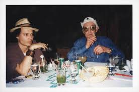 marauding hunter s thompson • frank hunter s thompson and johnny depp in
