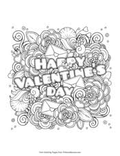 The best free, printable valentine´s day coloring pages! Valentine S Day Coloring Pages Free Printable Pdf From Primarygames
