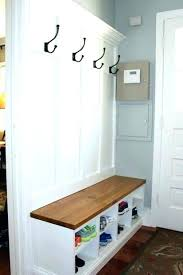 Hall Coat Rack With Storage Entryway Storage Rack Home Decorating Trends Entryway Storage Bench 37
