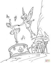 25 Printen Peter Pan En Tinkerbell Kleurplaat Mandala Kleurplaat