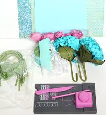 Paper Flower Punches How To Make A Paper Flower Bridal Bouquet
