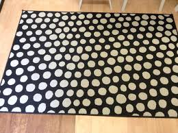 black white polka dot rug ikea home decor polka dot rug 8x10