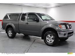 2005 Nissan Frontier SE King Cab 4x4 in Storm Gray Metallic ...