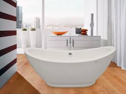 ... Bathtubs Idea, Fancy Tubs Best Acrylic Bathtubs Fancy Freestanding Tubs  And Shower Faucet On Wooden ...