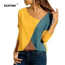 IYAEGE <b>футболка женская с длинным</b> рукавом Повседневная С v ...