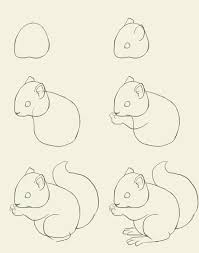 Small Picture just in case ya know you ever need to draw a squirrel or