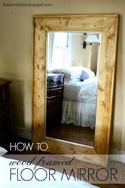 diy framed floor mirror jaime costiglio