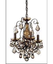 wonderful mini bronze crystal chandelier 15 3648 76tk