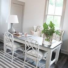 white faux bamboo chairs
