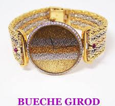 bueche girod wristwatches solid try color 18k bueche girod ladies watch 1ct diamonds f vs1 exlnt