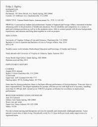 Resume For Veterans Example Free Download