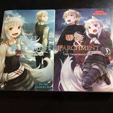 Wolf And Parchment Light Novel Wolf Parchment 1 2 New Theory Spice Wolf