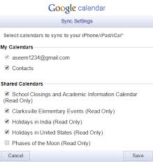 Ios Not Syncing All Google Calendars To Iphone
