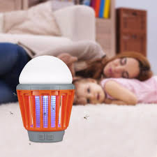 Mosquito Zapper Lantern Camping Light With Usb Charging Lamp