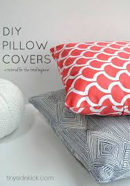 Making Pillow Covers