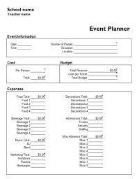 Event Coordinator Templates Useful Microsoft Word Microsoft Excel Templates Event Planner
