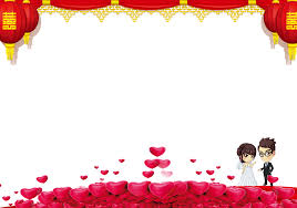 Wedding Invitation Wedding Background Material Png