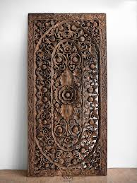 wooden carved wall hangings carved wood wall art decor impressive open carvings wood wall panels set