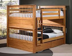 wooden twin loft bed