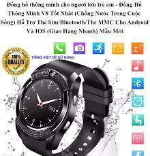 Đồng hồ thông minh cho người lớn trẻ em - Đồng Hồ Thông Minh V8 Tốt Nhât (