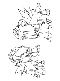 Pokemon Cards Coloring Pages