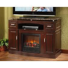 castlecreek granite top media center electric fireplace heater